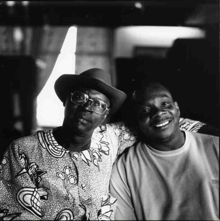 Ali and Toumani - Photo by Christina Jaspars