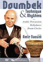 Amir Naoum: Doumbek Technique and Rhythms for Arabic Percussion