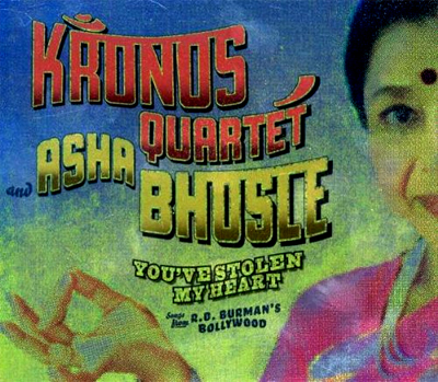 Asha Bhosle with the Kronos Quartet - You've Stolen My Heart.