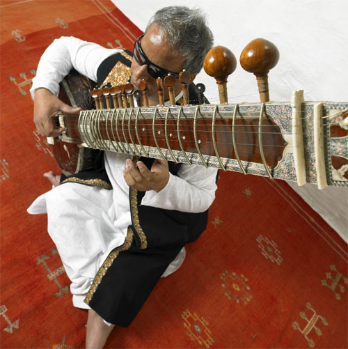 Baluji Shrivastav - Photo by Simon Richardson
