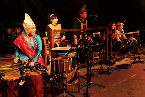 Band Girl LKNS - Photo courtesy of Sarawak Tourism Board