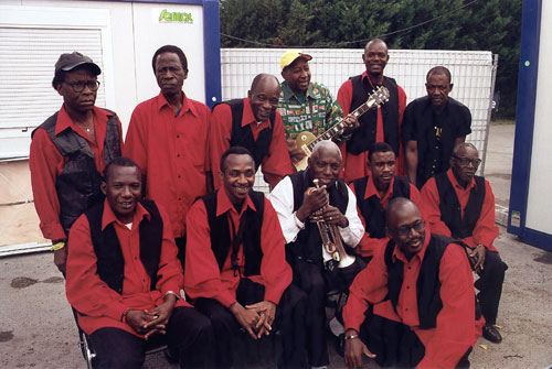 Bembeya Jazz - Photo by René Goiffon
