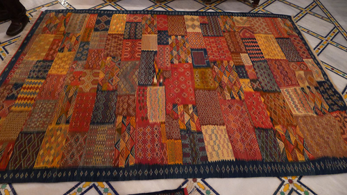 Berber rug - Photo by Evangeline Kim