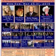 Bluegrass On The Plains 2015 will take place Monday, May 25 – Sunday, May 31, 2015 in Auburn, Alabama at University Station RV Resort. The festival features Ricky Skaggs & […]