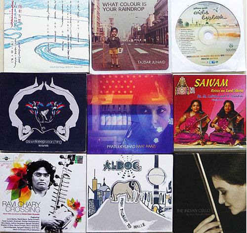 CDs of performing artists