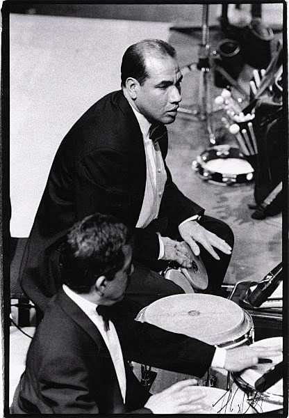 Chucky Lopez in 2000 at Lehman College in the Bronx, New York, with Wynton Marsalis and the Jazz at Lincoln Center Orchestra, with Raphy Irizarry and the late Milton Cardona on congas.
