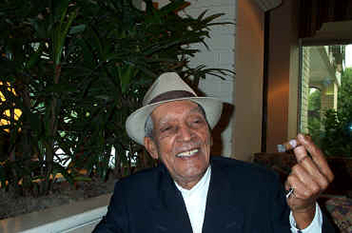 Compay Segundo in Raleigh - Photo by Angel Romero