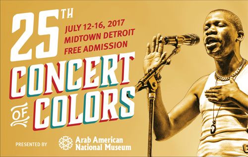 Top World Music Talent at Concert of Colors 2017 in Detroit