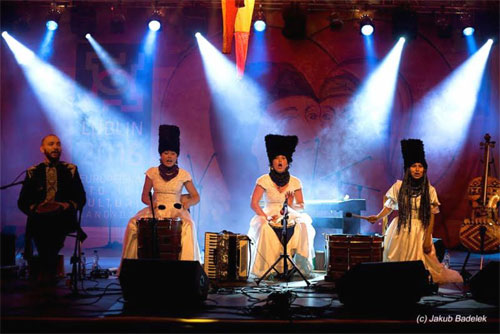 DakhaBrakha - Photo by Jakub Badelek