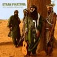 Etran Finatawa The Sahara Sessions (Riverboat Records/World Music Network, 2013) Recorded in the Saharan desert with only an animal skin tent for shelter, the Niger desert blues group Etran Finatawa...