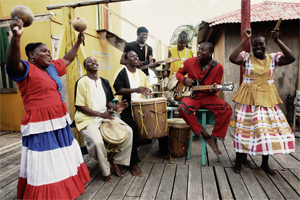 Garifuna Collective -  Photo by Peter Rakossy