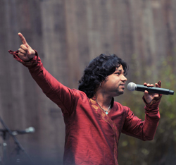 Kailash Kher live at Stern Grove - Photo by Joy Dutta