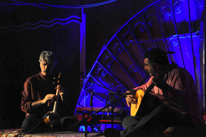Kayhan Kalhor and Erdal Erzincan - Photo by Evangeline Kim