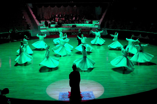 Konya Turkish Sufi Music Ensemble — Photo by Evangeline Kim