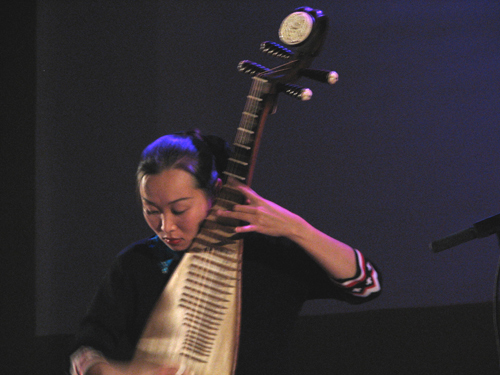 Liu Fang at WOMEX 2008 - Photo by Angel Romero