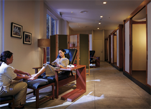Lone Pine Hotel's spa. Photo courtesy of Lone Pine Hotel