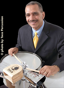 Mario Grillo - Photo courtesy of Toca Percussion
