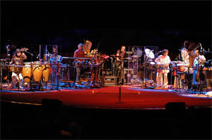 Global Drum Project on 2stage in 006 - Photo by John Werner
