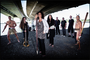 Moana Maniapoto and her current band, The Tribe