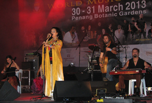Mu at Penang World Music Festival 2013 -