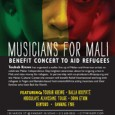"Afropop's Sean Barlow reports that the Musicians for Mali grassroots benefit concert last Saturday, September 22, in New York city was sold out. ""It was truly special,"" says Barlow. ""People […]"