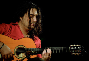 Niño Seve, winner in the guitar category of the 2013 Cordoba National Flamenco Art Festival