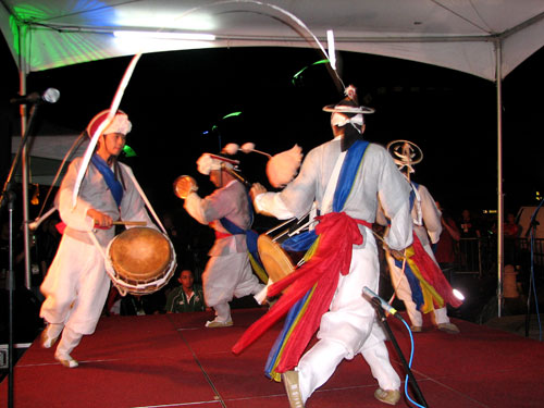 Noreum Machi at Rainforest World Music Festival 2009 - Photo by Angel Romero