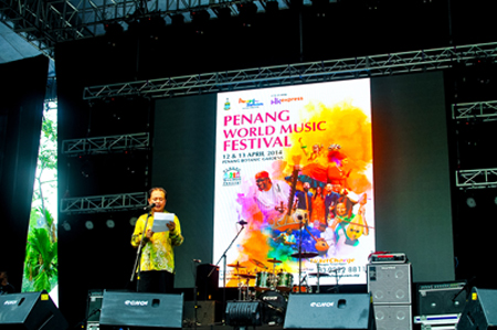 Opening Ceremony - Photo by Leong Kean Hong, courtesy of Penang World Music Festival