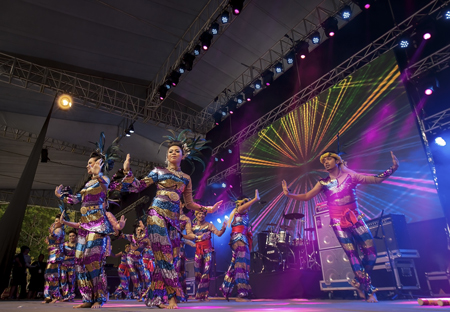 Opening ceremony dances - Photo by Sherwynd, courtesy of Penang World Music