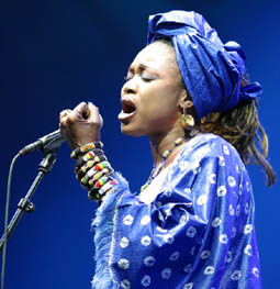Oumou Sangare - photo by Philip Ryalls