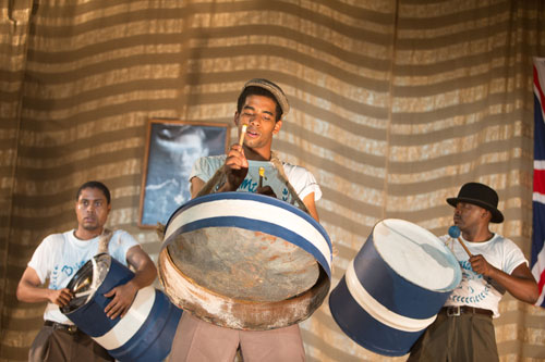 Steel band featured in Pan