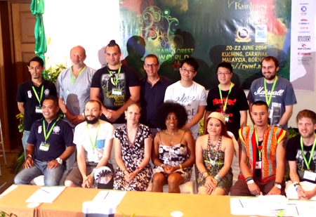 Press Conference Day Three at Rainforest World Music Festival 2014  - Photo by Madanmohan Rao