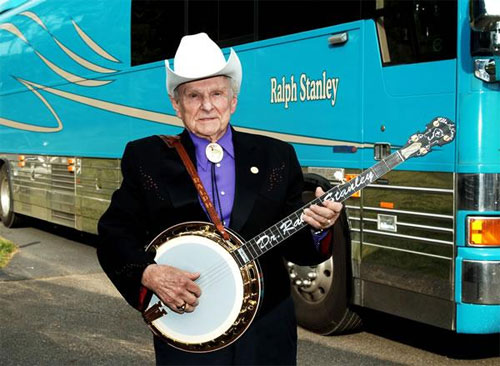 Ralph Stanley - National Heritage Fellow Portrait by Tom Pich