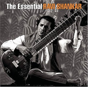 Cover of the Ravi Shankar album The Essential Ravi Shankar