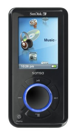 SanDisk Sansa e260 4 GB MP3 Player with MicroSD Expansion Slot
