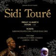 Malian musician Sidi Touré, a disciple of Ali Farka Touré, will bring his desert folk sounds to london on Friday, March 14 at The Forge. Sidi Touré comes from Gao, […]