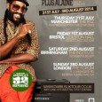 Reggae sensation Tarrus Riley will be presenting his latest album Love Situation live in the UK this Summer. Tarrus is the holder of Jamaica's CVM TV's 15th Anniversary Award, for […]