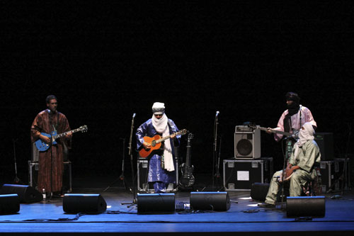 Tinariwen - Photo by Jan Kook
