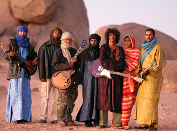 Tinariwen - Photo by Thomas Dorn