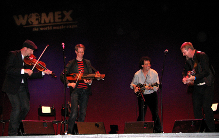 Vasen and Mike Marshall at WOMEX 2008 - Photo by Angel Romero