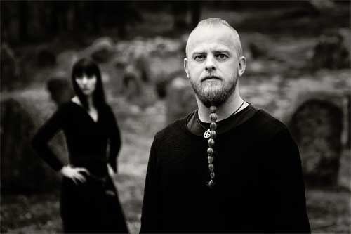 Wardruna's Einar Selvik and Lindy-Fay Hella - Photo by Espen Winther