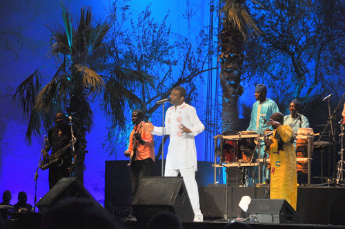 Youssou N'Dour - Photo by Evangeline Kim