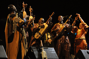 Bassekou Kouyate at Territorios Sevilla 2009 - Photo by Eduardo G. Magaña