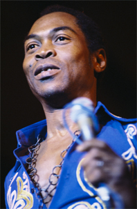 Fela Kuti - Photo by Bernard Matussière