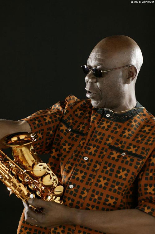 Manu Dibango - Photo by Louis Vincent