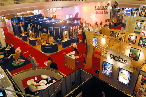 MIDEM exhibition hall