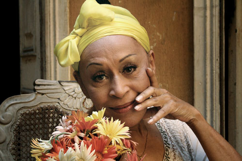 Omara Portuondo - Photo by Tomás Mina
