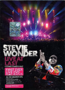 Stevie Wonder -  Live at Last - A  Wonder Summer Night