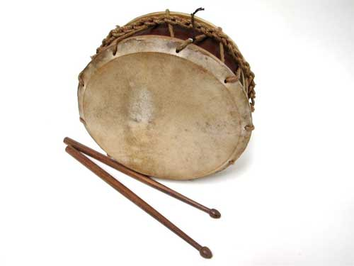 Tabor drum made by Early Music Shop in England