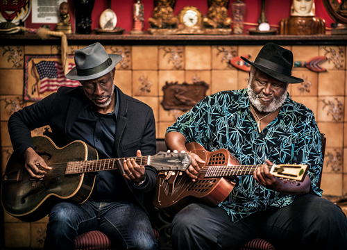 Bluesmen Taj Mahal and Keb' Mo' Announce New Album and Tour
